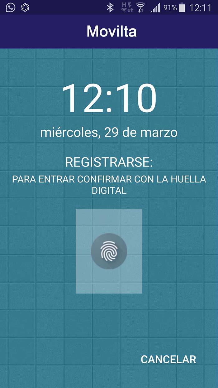 Huella digital Movilta