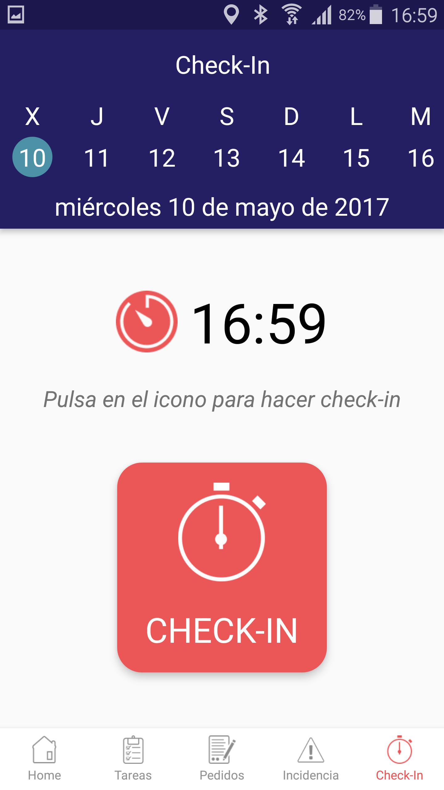 Check in con Movilta
